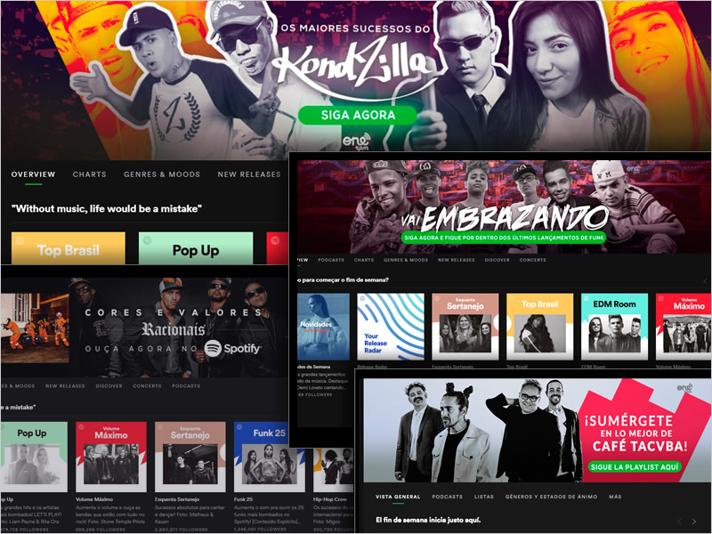 f863a52f324 HPTOs - Spotify Home Page Takeovers are a powerful tool to promote a release  during a 24 hour period.